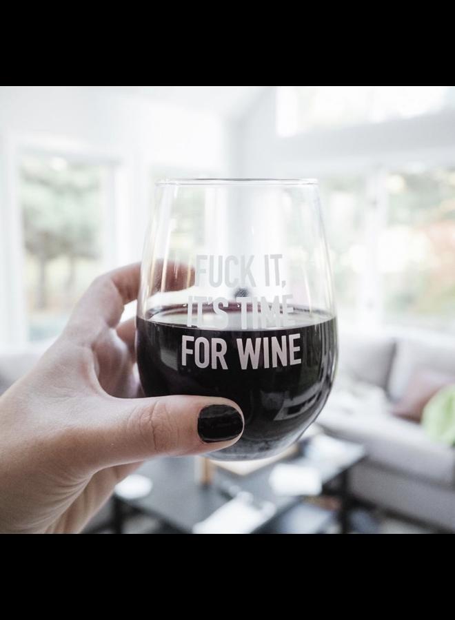 Classy Wine Glass