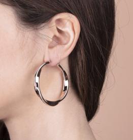 Twisted Hoops Earrings