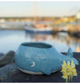 Whale Planter Small