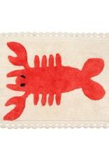 Lobster Crochet Bath Mat