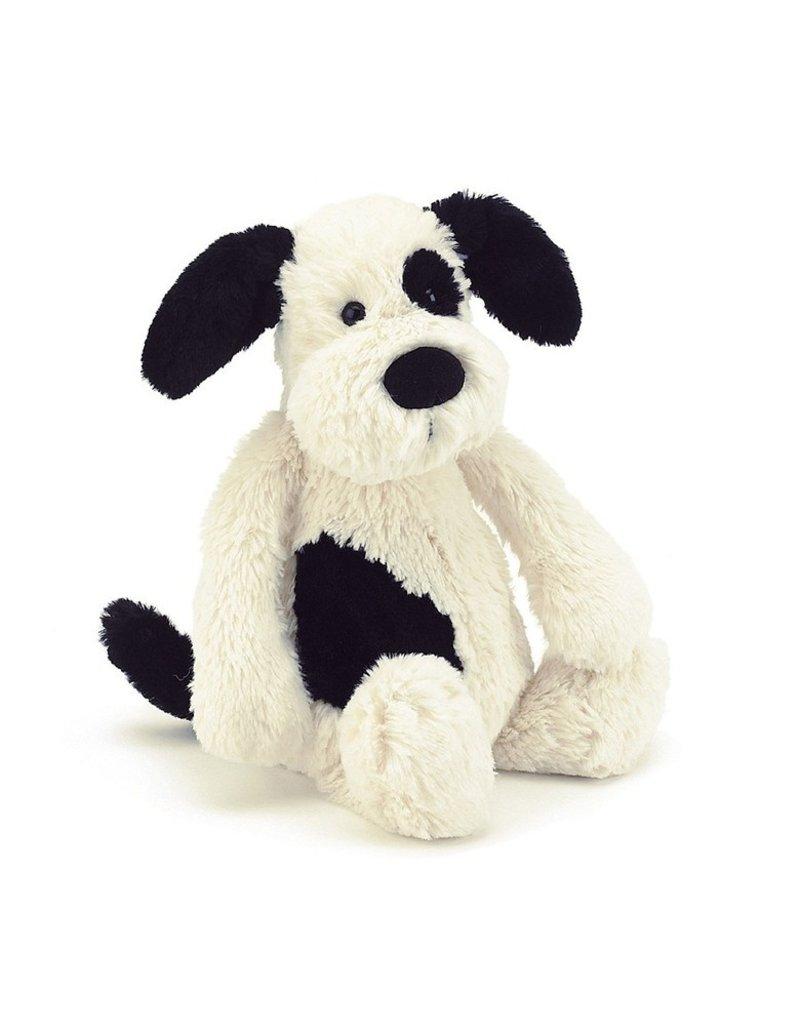 Bashful Really Big Black & Cream Puppy