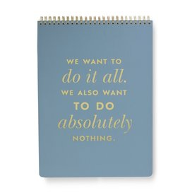 Top Spiral Large Notebook Do It All