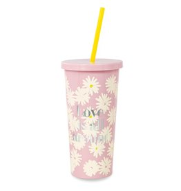 Tumbler w/Straw Love Is All Around