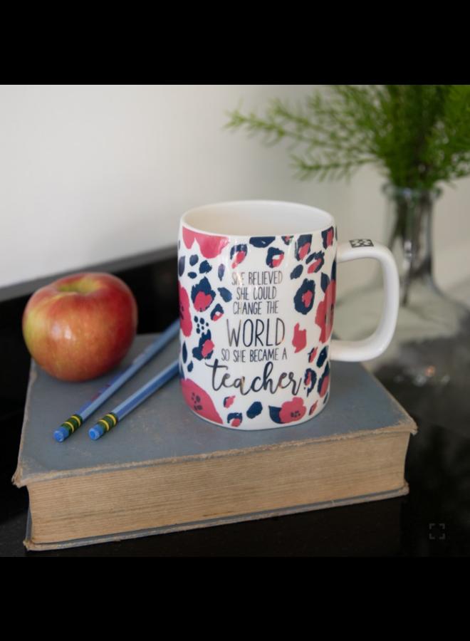 Organic Mug Became Teacher