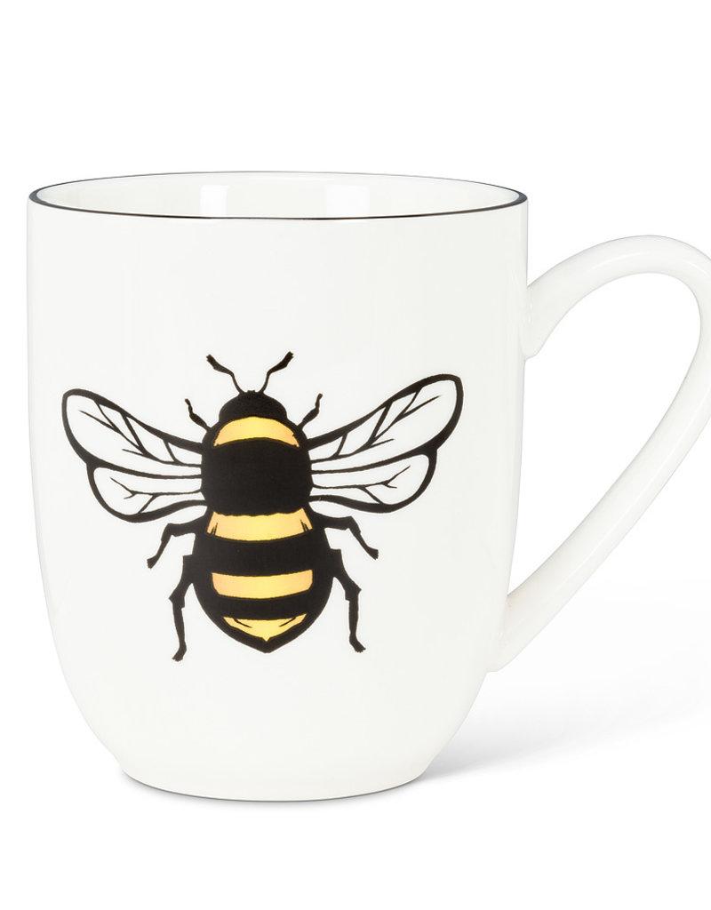 Yellow Bee Belly Mug