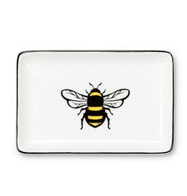 Yellow Bee Rect Tray