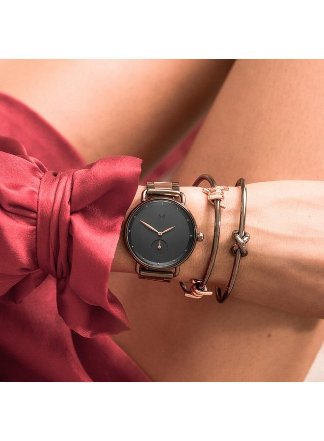 MVMT Gunmetal Rose Watch