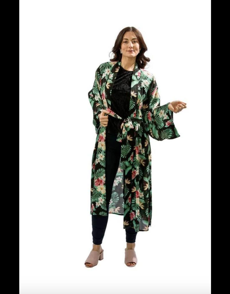 Long Belted Kimono