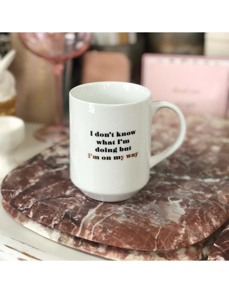 On My Way Mug