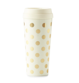 Thermal Mug  Gold Dot