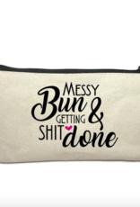 Make Up Bag - Messy Bun