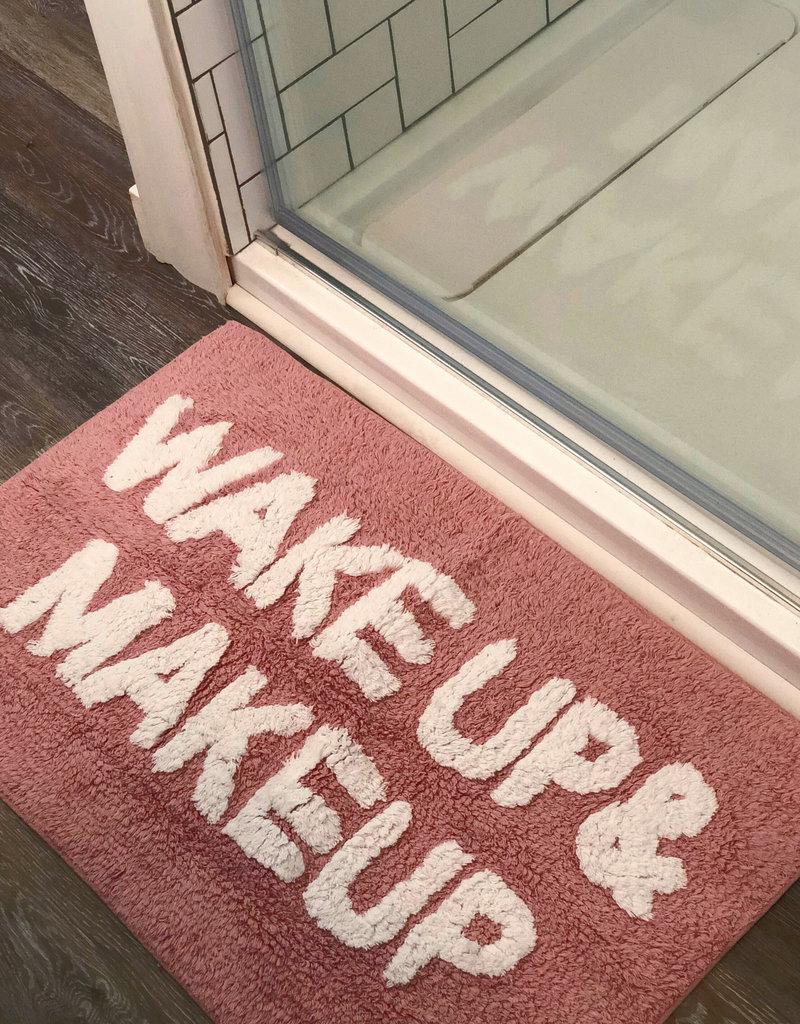 Pink Wake Up & Make Up Mat