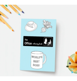 The Office Colouring Book