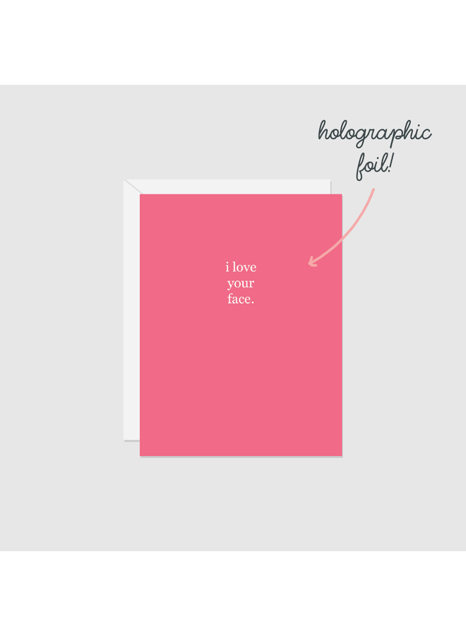 Holographic Foil Card