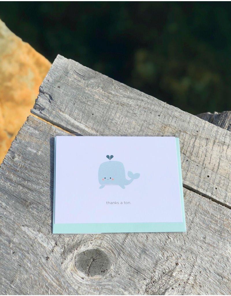 Card Thanks A Ton