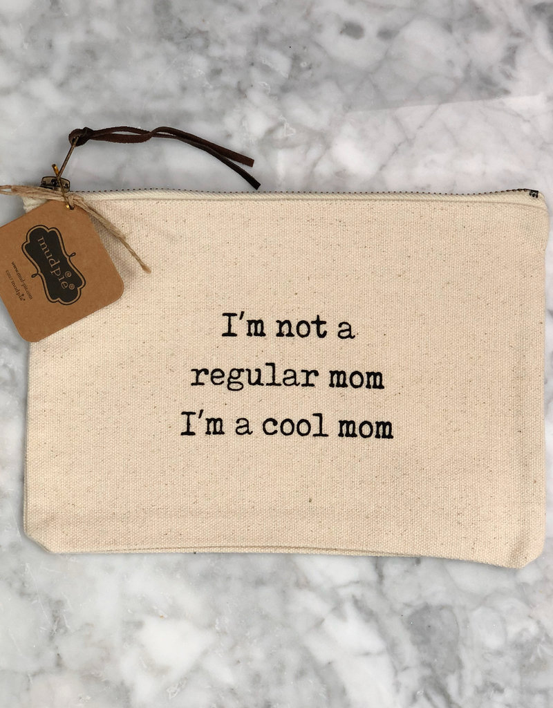Cool Mom Canvas Pouch