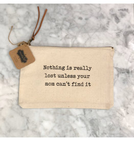 Cant Find It Canvas Pouch