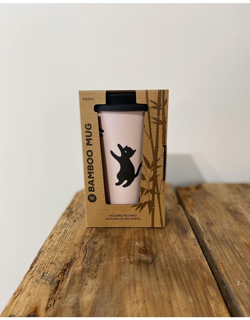 Bamboo Black Cats Travel Mug