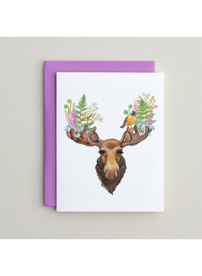 Moose & Robin Card