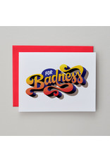 For Badness Card