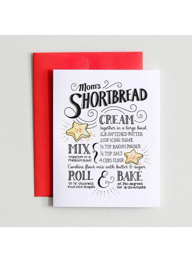 Mom's Shortbread Card
