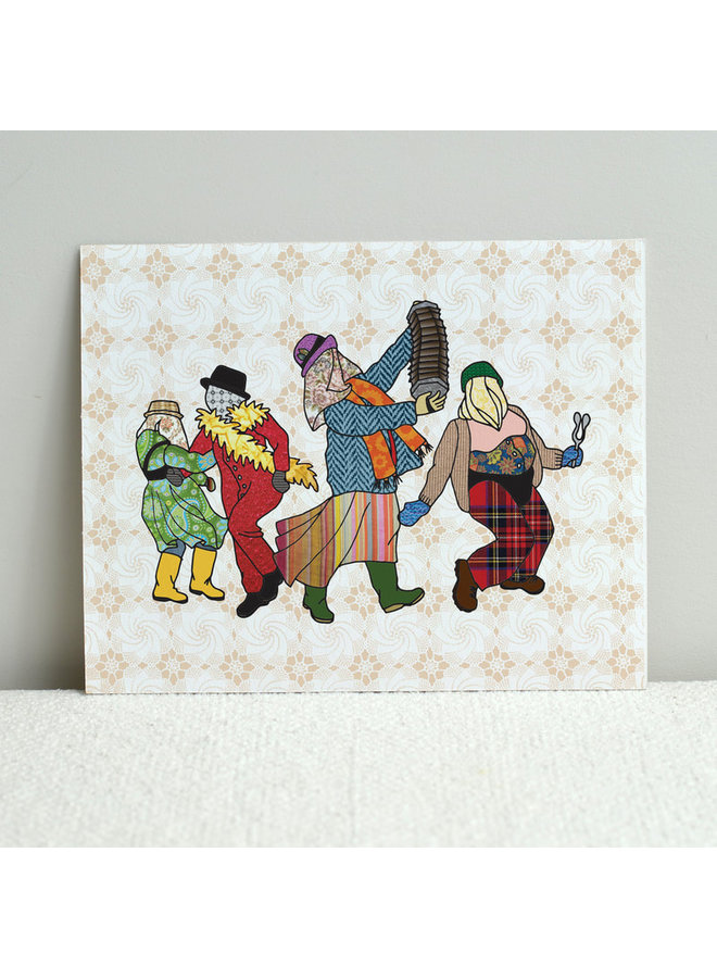 Mummers' Parade Print