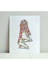 Figure Skates Print