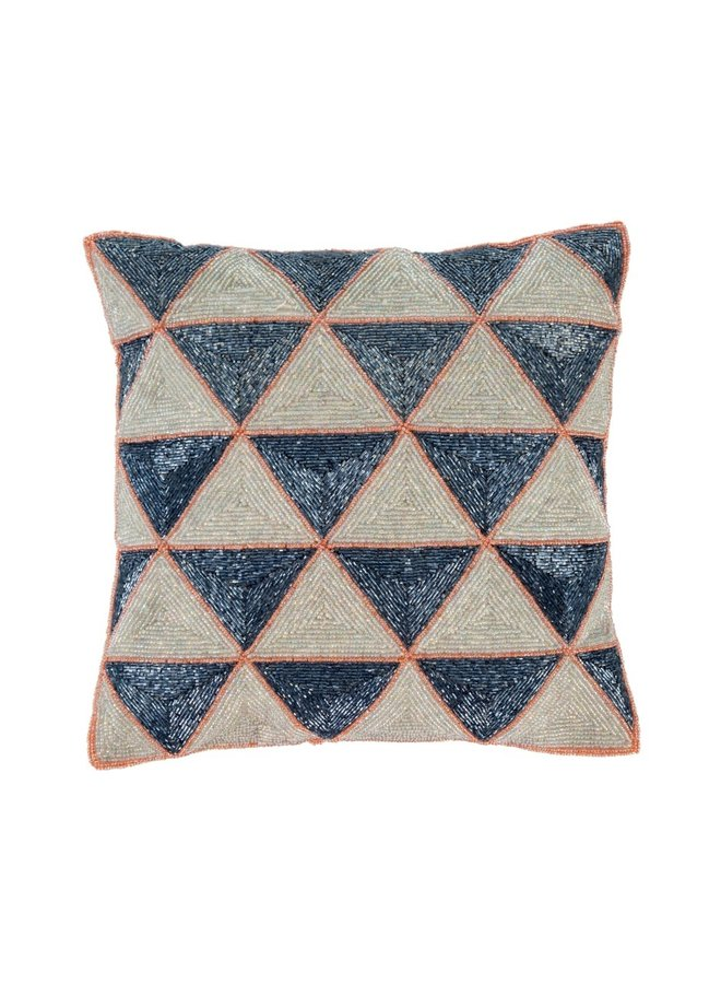 Celeste Beaded Cushion