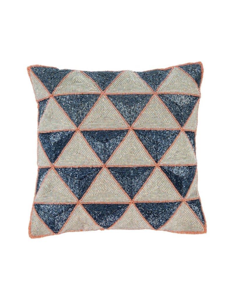 Celeste Beaded Pillow
