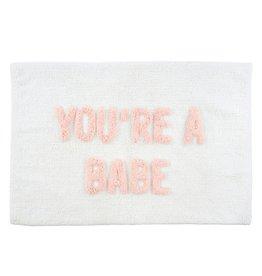You're a Babe Bath Mat