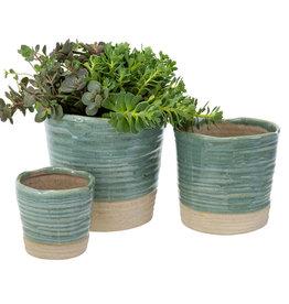 Leah Pots - Turquoise