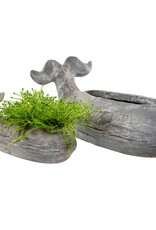 Small Grey Whale Planter