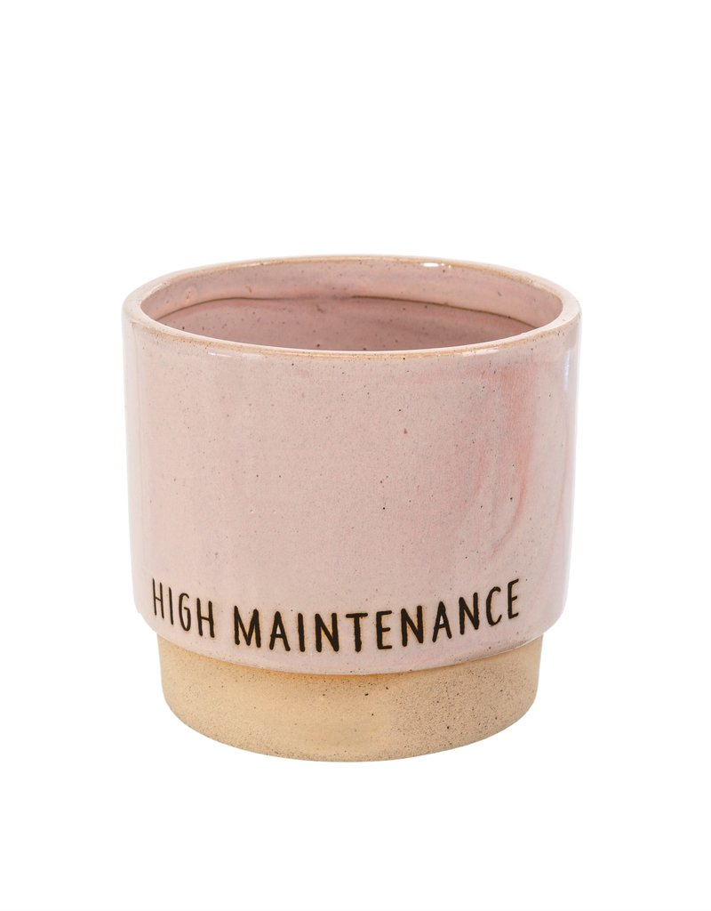 High Maintenance Pot, Pink