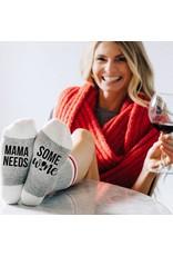Mama Need Some Wine Sock