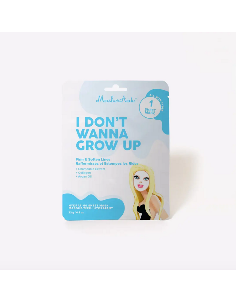 I Don't Wanna Grow Up Firming Sheet Mask