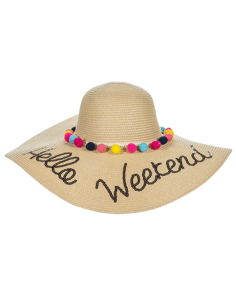 Hello Weekend Sun Hat