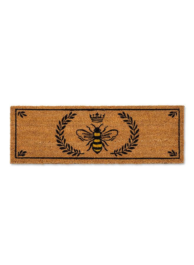 Bee in Crest Balcony Doormat