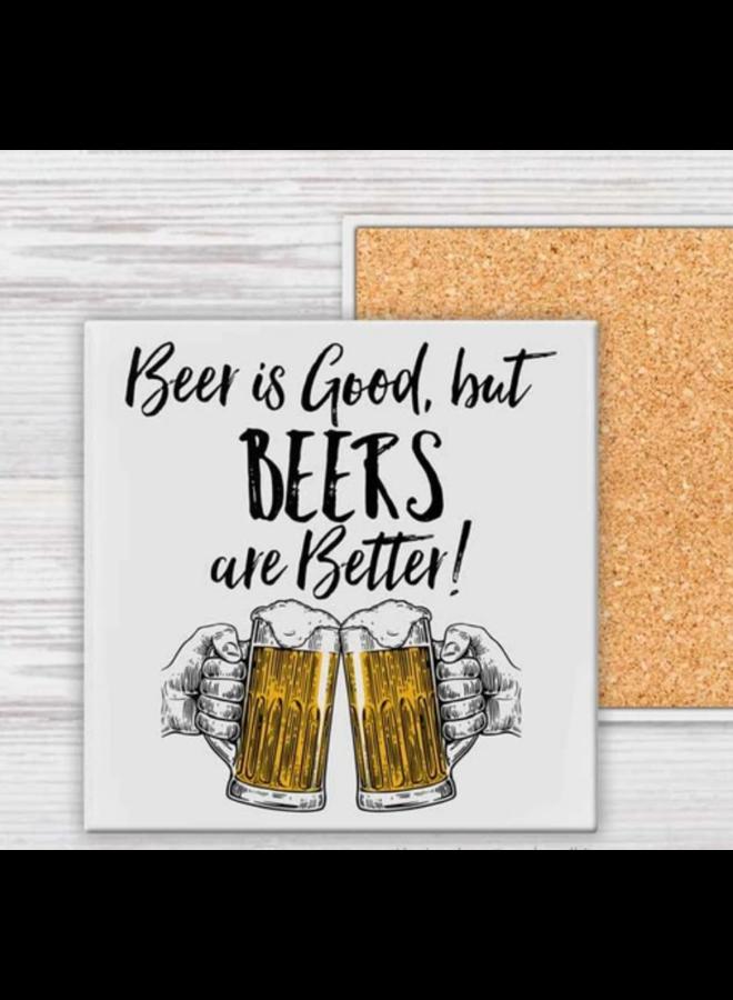 Coaster - Beer is Good