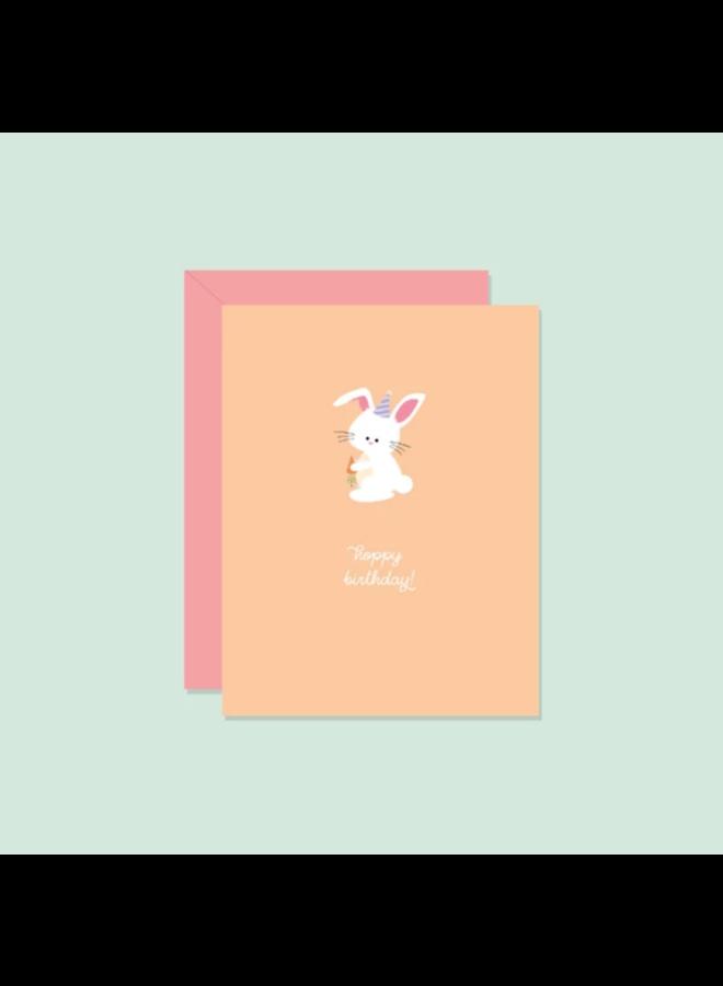 Hoppy Birthday! Card