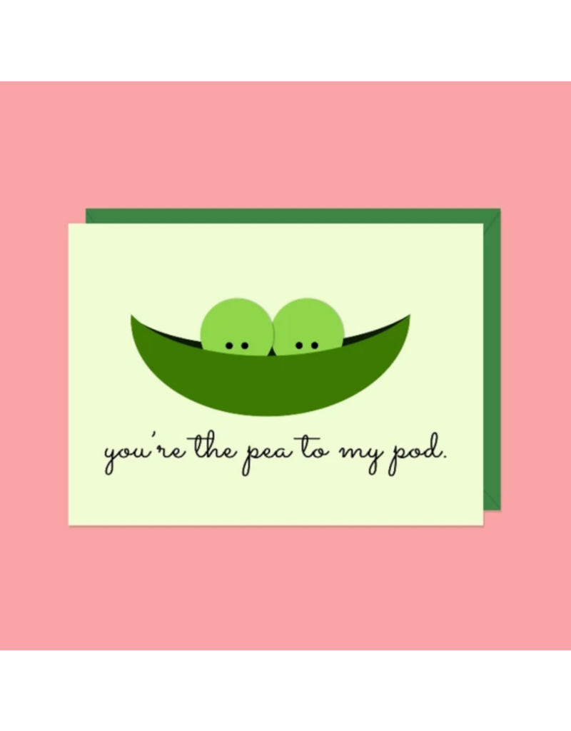 Card You're The Pea To My Pod
