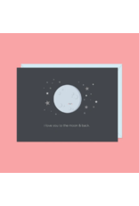 Card I Love You To The Moon And Back