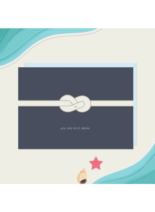 Card You Are Knot Alone