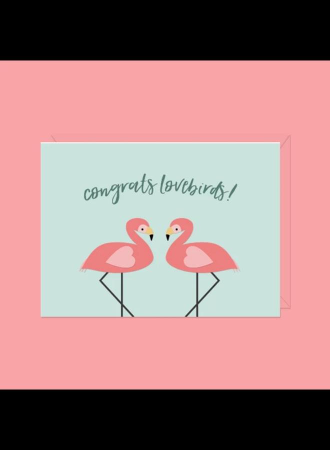 Card Congrats Lovebirds!