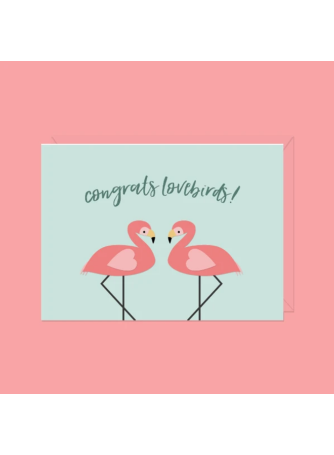 Congrats Lovebirds! Card