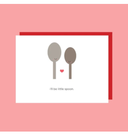 Card I'll Be The Little Spoon