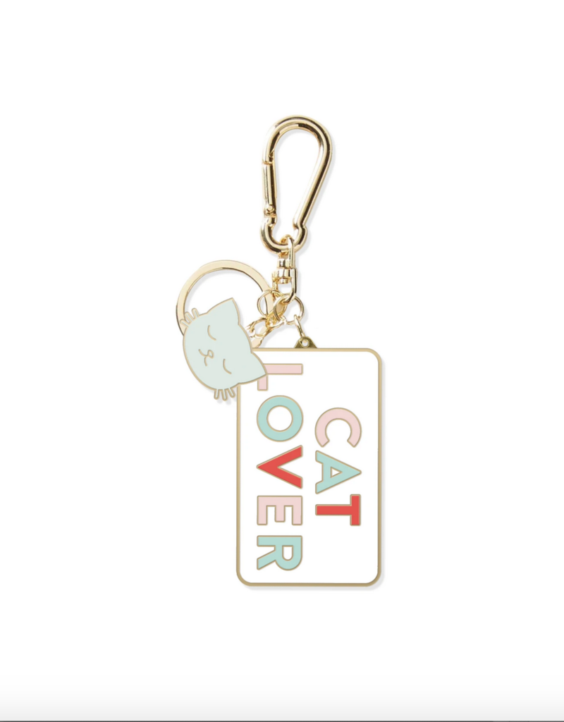 Cat Lover Keychain