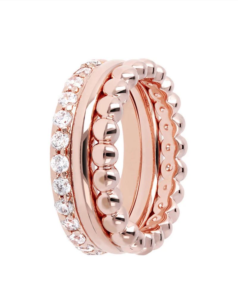 Cubic Zirconia Ring Set