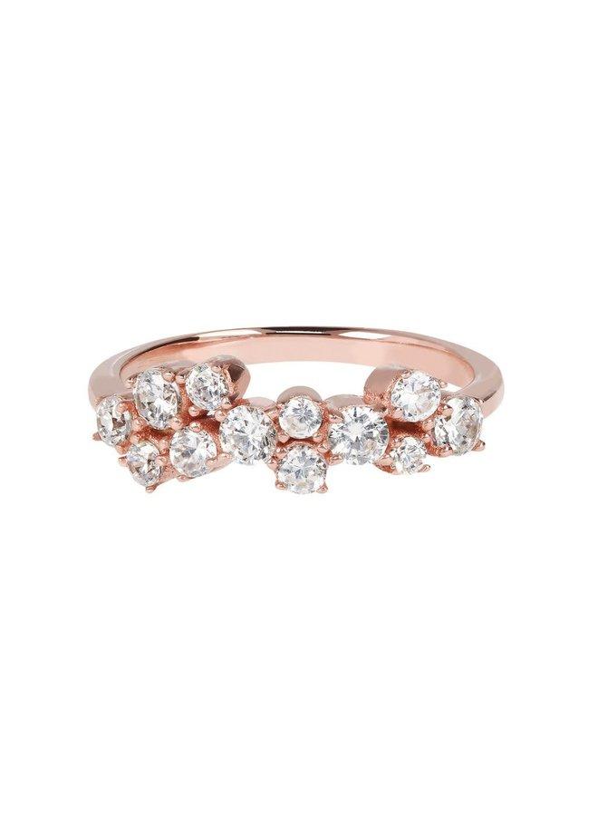 Fancy Cluster Ring