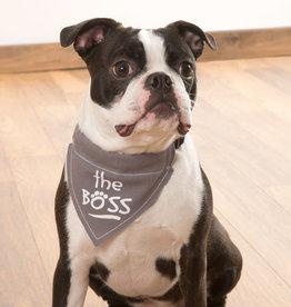 The Boss Pet Bandana