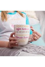 Adorable Badass 24 oz Pierced Porcelain Cup
